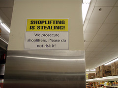 Retail theft is usually a class B misdemeanor.